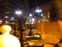 Soirée d'échecs insolite