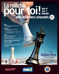 Les échecs amusants aux Galeries de Montmagny