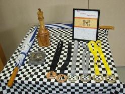 Trophée et médailles